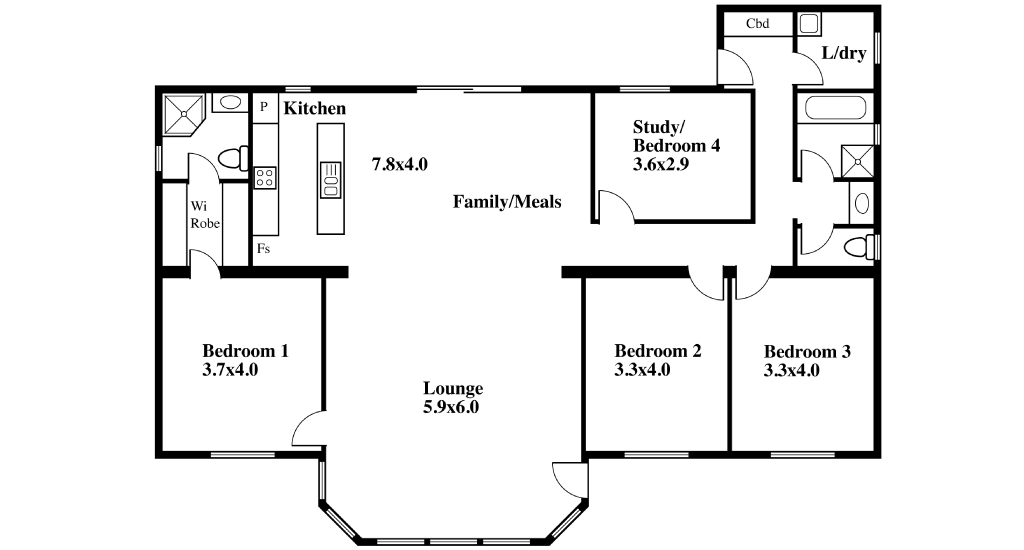 Transportable Home Design SP09 Plan