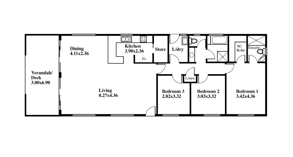 Transportable Home Design SP41 Plan